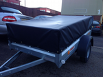 Large Black Trailer Cover - 1930mm x 800mm x 300mm